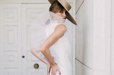 10 vestidos de novia que serían los favoritos de Audrey Hepburn si se casara este año
