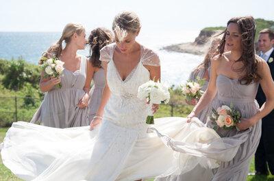 Armonía absoluta: Las damas de boda se ven mejor con vestidos en colores neutros... ¡Compruébalo!