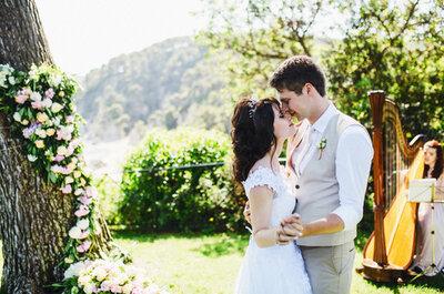 Солнечная свадьба Александра и Лины в Ллорет-де-Маре!