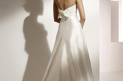 Pronovias wedding dresses with bows