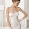 Hochzeits-Kleid: Brautkleid mit Herzausschnitt und Applikationen
