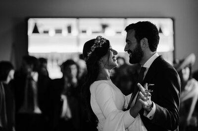 ¿La culpa? Del fútbol: la boda de Paloma y Javier