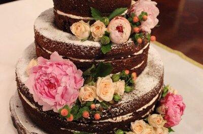 Bolo de casamento de chocolate: uma ideia deliciosa!