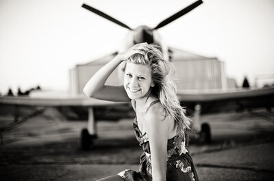 Si te gustan los aviones, mirá estas sesiones de novios