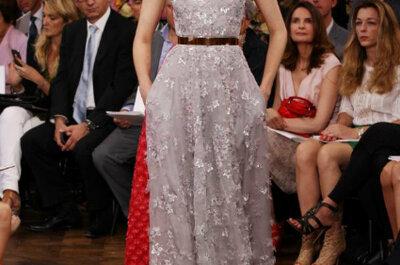 Colecção alta costura Dior 2013: uma estreia bem sucedida