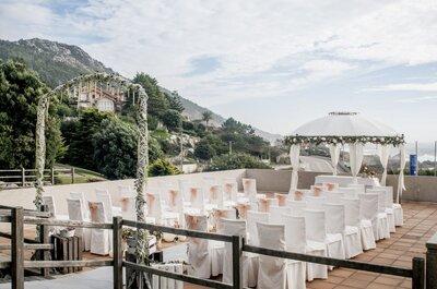 Los 8 mejores hoteles para celebrar una boda en Pontevedra