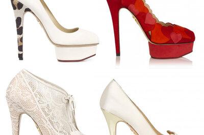 Sapatos para noivas fashion: fuja dos clássicos