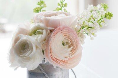 Decoración con rosas para bodas de 2015