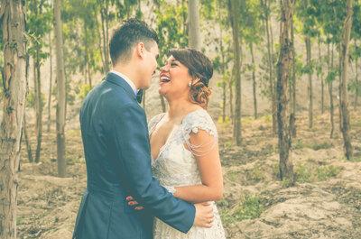 Lesly y Sebastián, la magia de una boda al estilo vintage