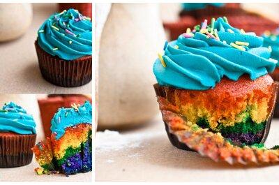 Cupcakes gourmet de colores para tu despedida de soltera en Venezuela y Perú