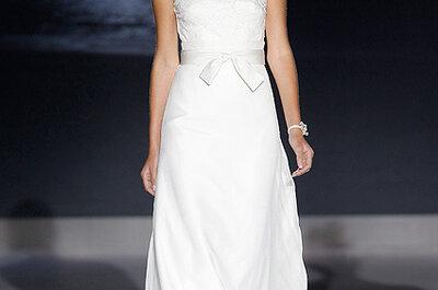 Robes de mariée avec un décolleté voilé : tendance 2013