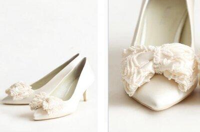 Zapatos 2013 estilo vintage para novia
