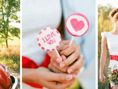 Valentine's Day Inspired Wedding