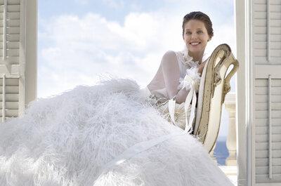 Découvrez la collection 2015 de Pronovias : entre glamour et élégance le savoir-faire de la maison