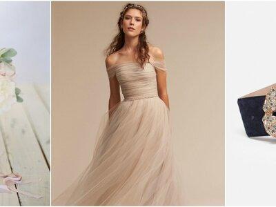 Look della settimana: sposa nude con dettagli black