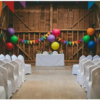 Hochzeit 2015 im Farbenrausch: Bunt, Bunter, Farbenfroh!