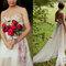 Ramos de novia con peonias 2017