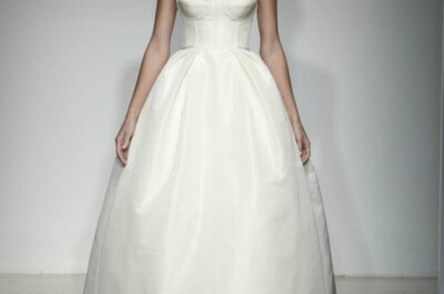 Amsale Wedding Dresses Fall 2013: Traditional with a Modern Twist