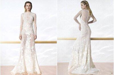 El vestido de la semana: un diseño de Yolan Cris solo para novias sensuales