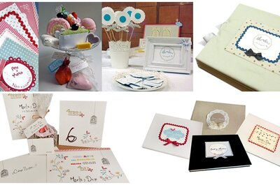 Apuesta por una papelería de boda artesanal