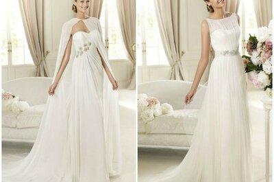 Selección Zankyou de vestidos de novia para bodas en clima cálido 2013