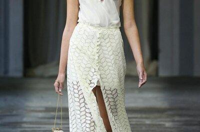 Un vestido de novia con tintes boudoir: Conviértete en la más sexy con la colección 2015 de Luisa Beccaria