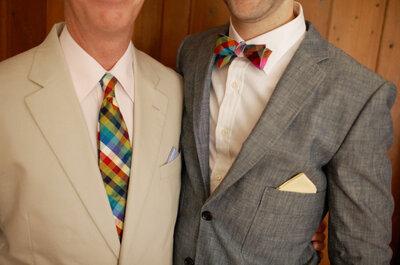 Novios combinados: Detalles perfectos para distinguir el estilo de ambos