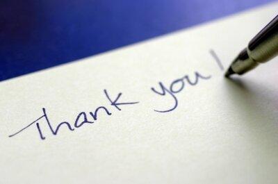 Jak napisać podziękowanie za otrzymane prezenty ślubne?