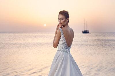 Detalhes de cortar a respiração nos vestidos de noiva para 2017: venham conhecer 3 dos nossos preferidos!