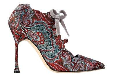 Manolo Blahnik y colección de zapatos otoño-invierno 2012-2013, inspiración para invitadas