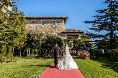 Un espacio ideal para celebrar tu boda en Girona: el Palau lo Mirador