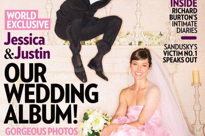 Casamento de Justin Timberlake e Jessica Biel desvendado na revista People