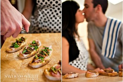 Spice Up Your Wedding Engagement Session: Fun and Funky Themes