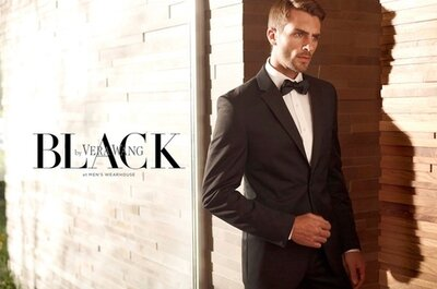 Men's Wearhouse & Vera Wang to Launch Black by Vera Wang for Grooms' Tuxedos