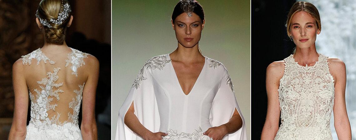 8 tendências que são sucesso absoluto nos vestidos de noiva 2016!