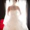 Stimmungsvolles Bilder der Braut