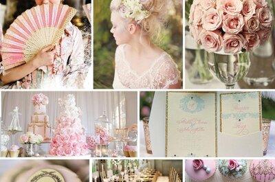 Comment organiser son mariage à la Marie-Antoinette : élégance, glamour et tons pastel