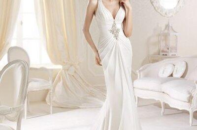 Vestidos de novia rectos de las tendencias 2014