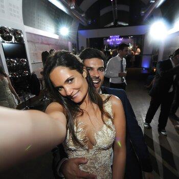 Eles foram autênticos noivos modelos: descubra a reportagem completa da Sandra&Tiago!