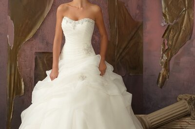 Abiti gonna vaporosa Mori Lee 2013 Bridal Collection