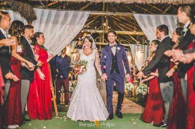 Casamento rústico & romântico de Vanessa e Junior: samba no pé, pura alegria e emoção!