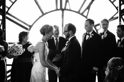 Zankyou Real Wedding: Jenn & Mark