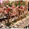 Majestueux centres de table. Photo: Zach Brake Photography
