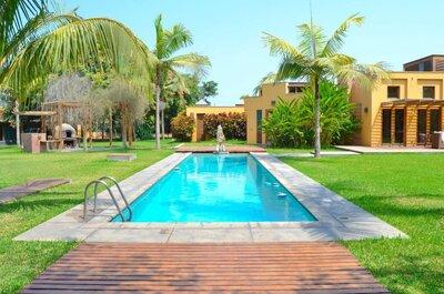 Las nueve mejores haciendas con piscina para tu matrimonio en Lima