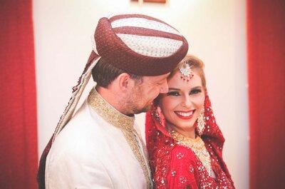 Ongelofelijk! Dit bruidspaar maakte trouwfoto´s in meer dan 30 landen!