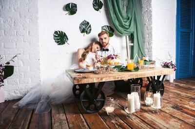 Экзотическая свадьба Екатерины и Алексея: оригинально и ярко!