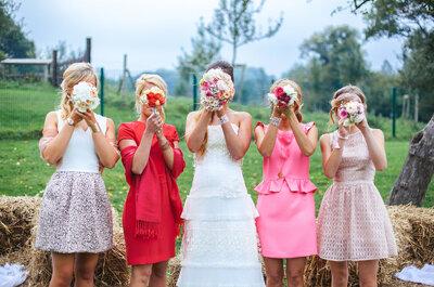 Hard and Soft Skills für Brautjungfern! Das müssen die Freundinnen der Braut alles drauf haben