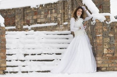 5 Tips to Stress Less When Planning a Winter Wedding