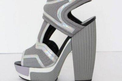 Sapatos de festa modernos de Rodarte, coleção 2013
