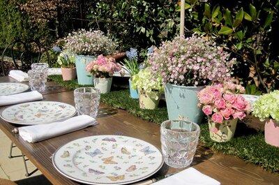 Tu boda en rosa: claves para decorar cada detalle